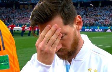 La preocupación de Lionel Messi