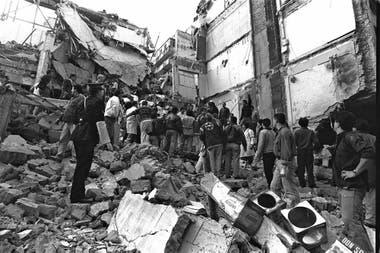 El atentado a la mutual judía, en 1994
