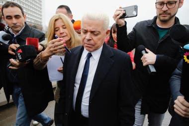 El exjuez declaró en la causa de los cuadernos de las coimas al figurar en las anotaciones de Centeno