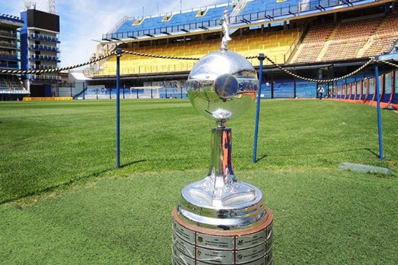 La foto de la Copa Libertadores en la Bombonera que difundió Conmebol y desató la bronca brasileña