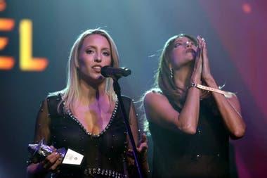 El dúo electrónico Las Rositas, entre los primeros ganadoras de la noche, del tramo no televisado de la ceremonia