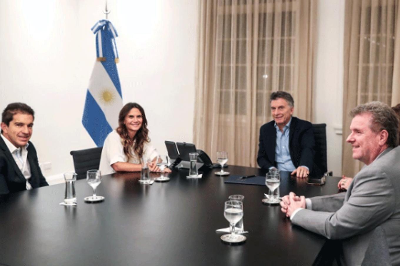 El presidente Mauricio Macri recibió a Amalia Granata en la quinta de Olivos