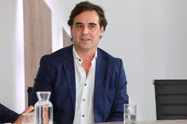Matías Peire (fundador de Grid Exponential) en la cuarta edición de Negocios del Campo.