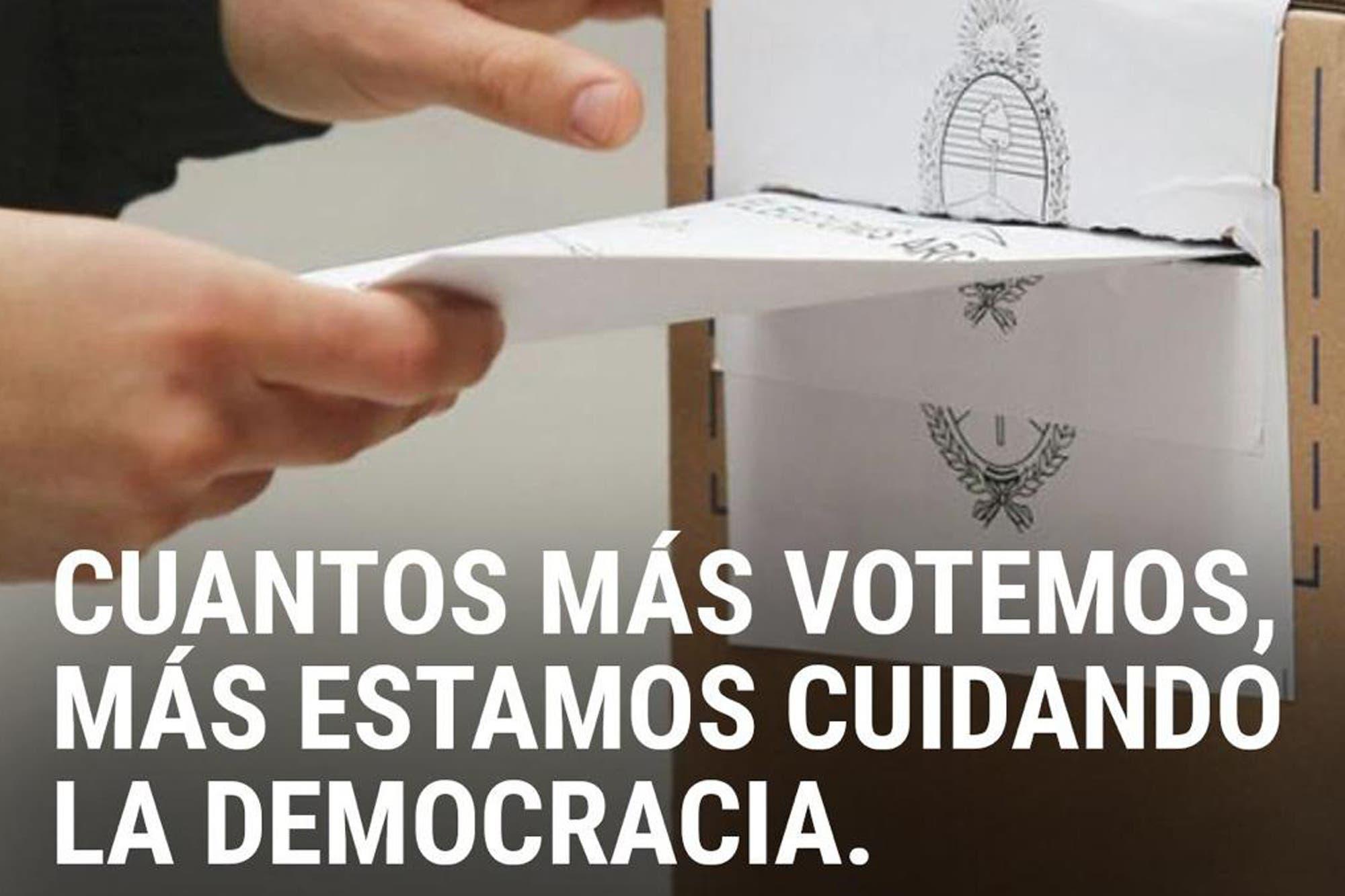 El grupo de WhatsApp de los empresarios llama a la gente a votar en las PASO