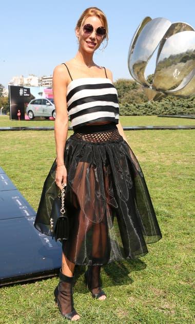 Nicole Neumann en el desfile de Fabián Zitta