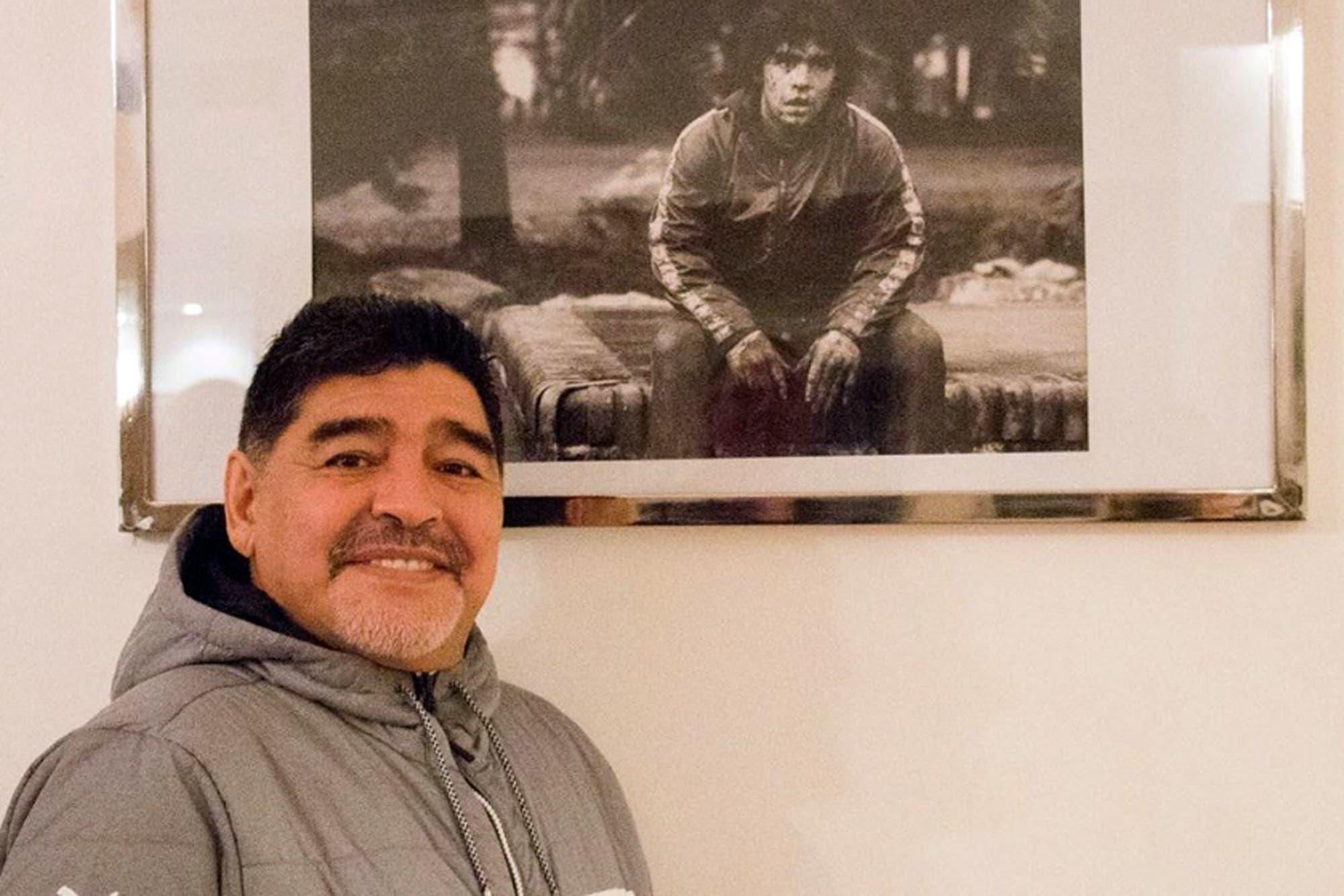 """Diego Maradona: """"Decían que no se me entendía nada. ¡Y no, si estaba llorando!"""""""