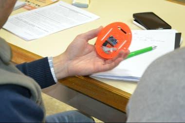 La papatrónica permite medir los golpes que se producen durante la cosecha mediante un sensor