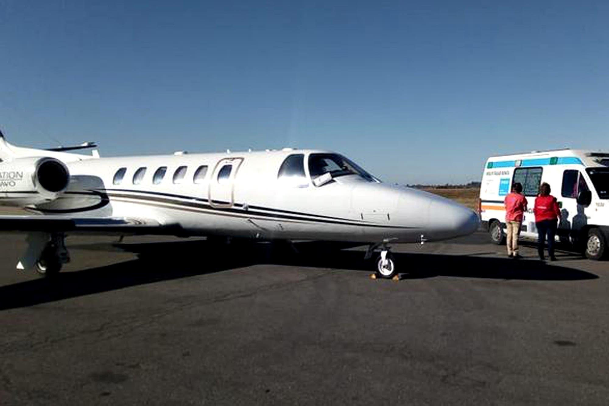 El avión sanitario de Tucumán voló tanto como para dar 22 vueltas al mundo en cinco años