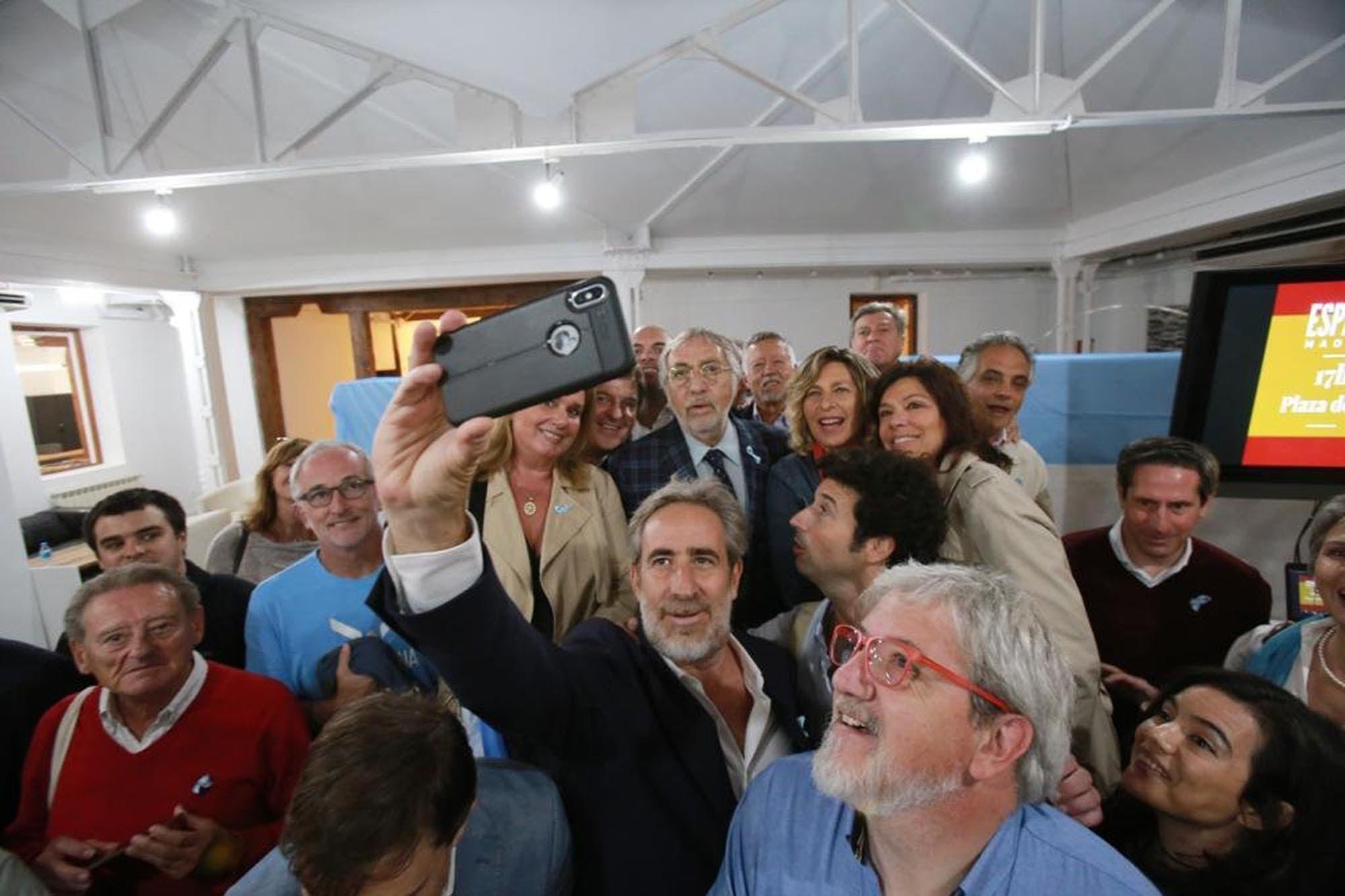 Luis Brandoni pidió a los argentinos residentes en España que voten por Macri