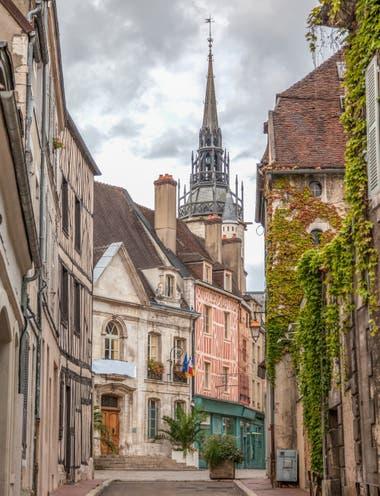 El casco histórico de Auxerre