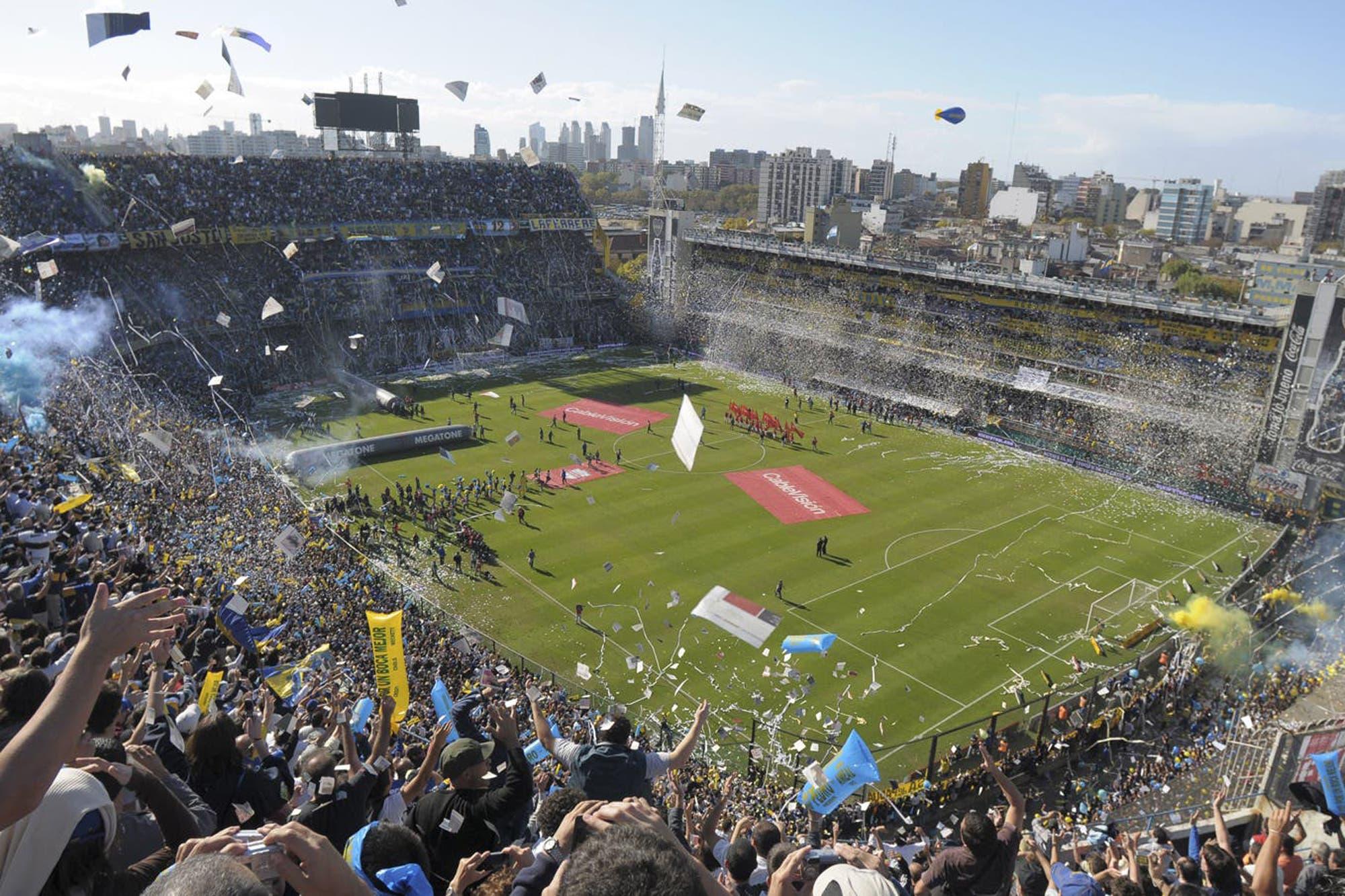 """La Bombonera, el estadio """"más pasional del mundo"""" en el nuevo ranking de la revista France Football"""