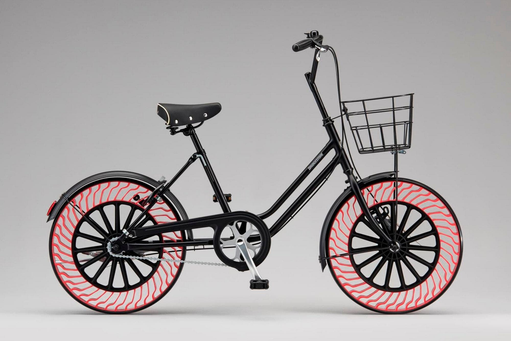 A prueba de pinchaduras: así serán las ruedas sin aire de la bicicleta oficial de los Juegos Olímpicos Tokio 2020
