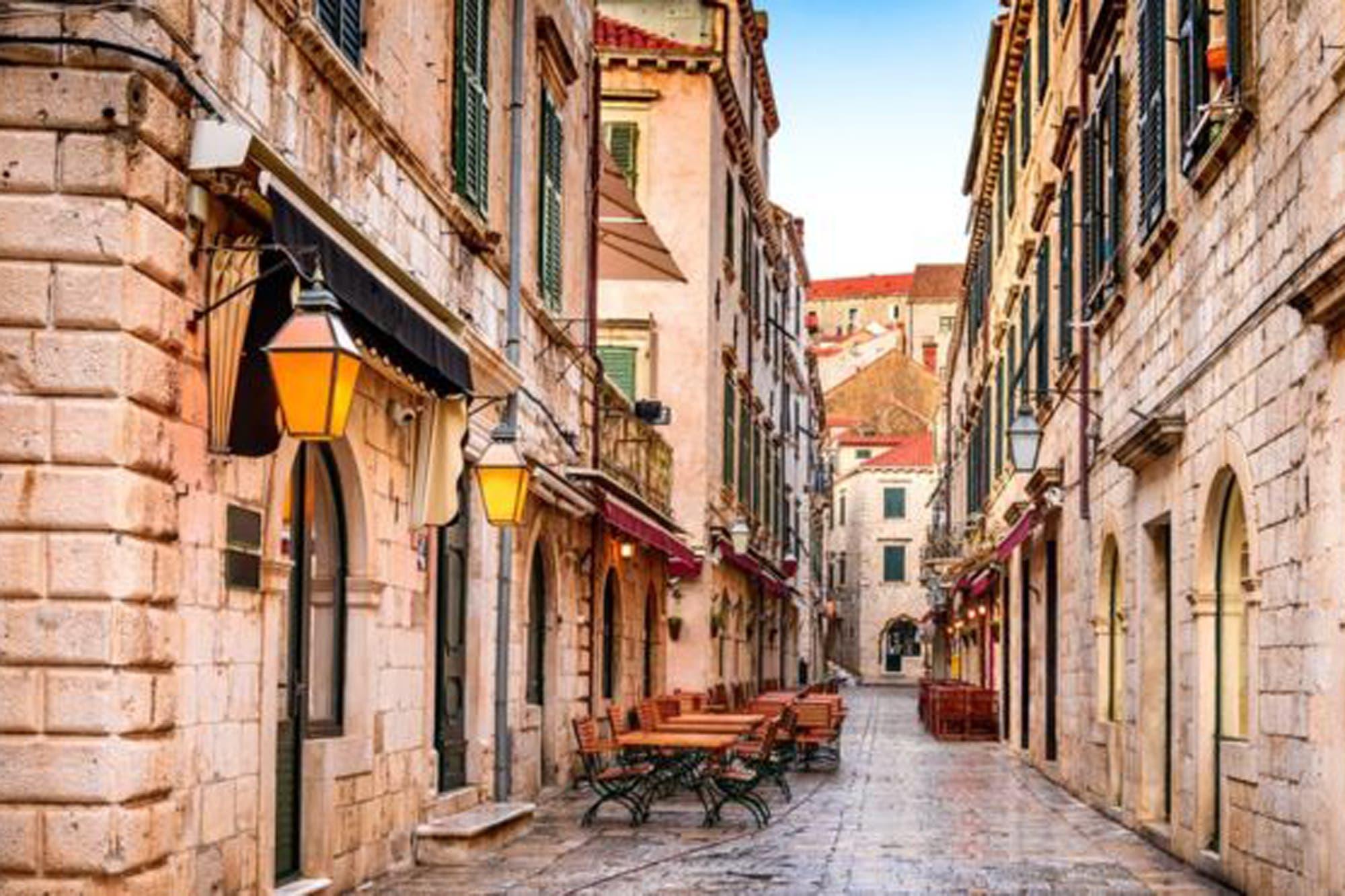 Coronavirus: Dubrovnik, la ciudad medieval planeada para una cuarentena