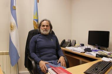 El juez de instrucción Carlos Narvarte, a cargo de la investigación del asesinato