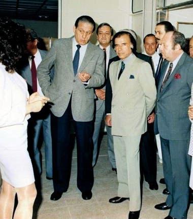 En la Argentina, armó una fundación y comenzó a tener mucha dependencia de los contratos y subsidios del Estado
