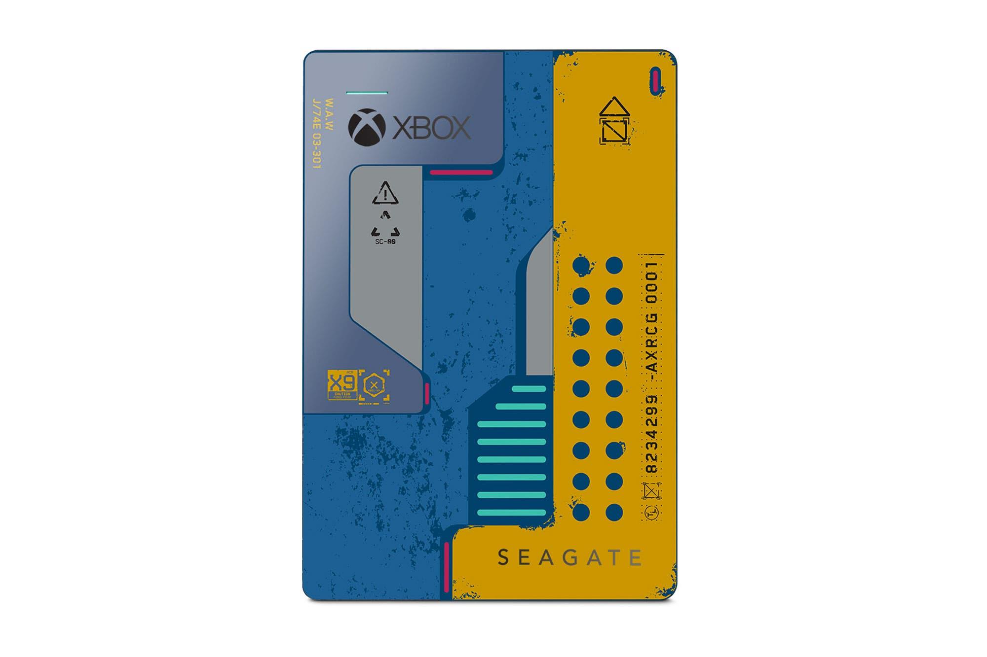 Seagate Cyberpunk 2077: un unidad portátil de almacenamiento que se luce por su diseño