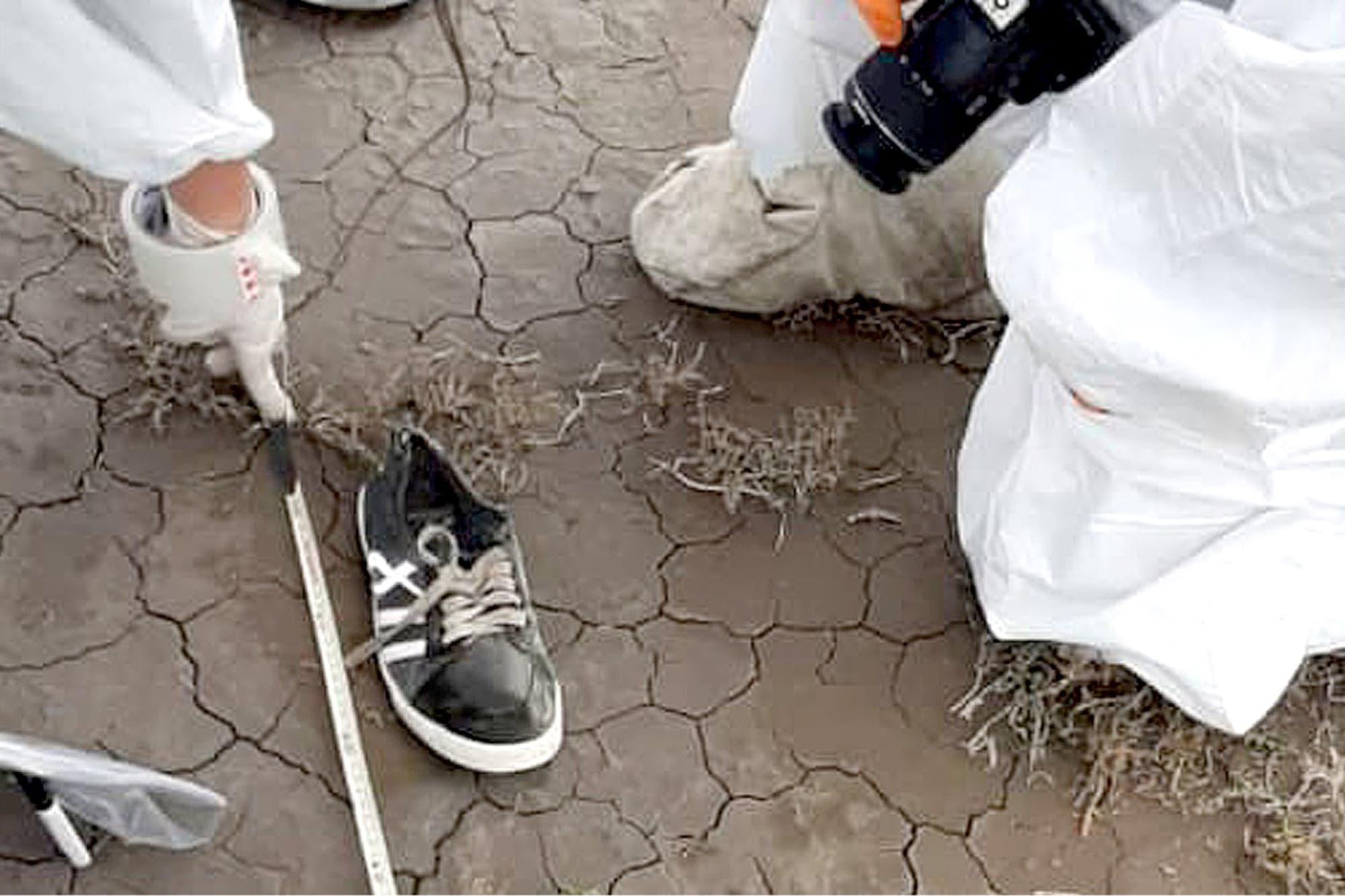 Facundo Astudillo Castro: la madre del joven reconoció una zapatilla a metros del cuerpo encontrado