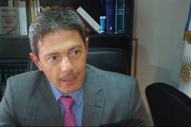 El fiscal de la causa, Mauricio Del Cero