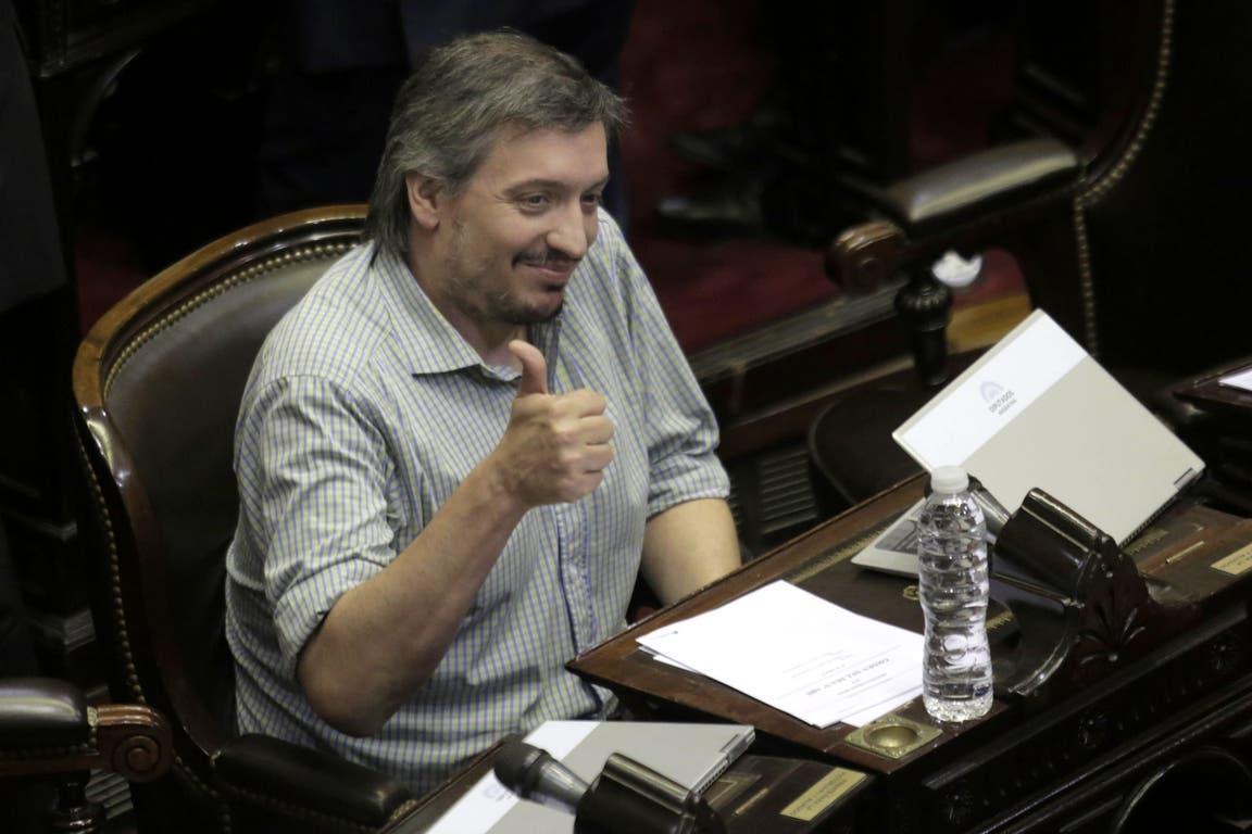 La AFIP permite a Máximo Kirchner pagar una deuda de $2 millones en ocho años