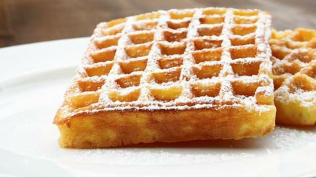 Receta de Waffle sin TACC y sin lácteos