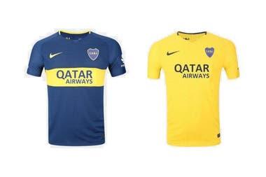 Así sería la próximca camiseta de Boca, con Qatar Airways como sponsor