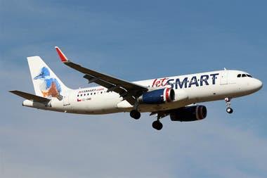 JetSmart solicitó rutas para volar en la Argentina el último mes de mayo
