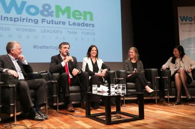 La Business Women Leaders Task Force del G-20 organizó el evento Wo-Men bajo el lema inspirando a líderes futuros