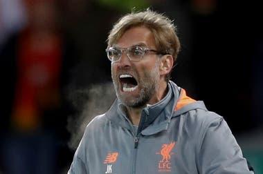 Jürgen Klopp, el carismático DT de Liverpool, que viene de eliminar a Bayern Munich