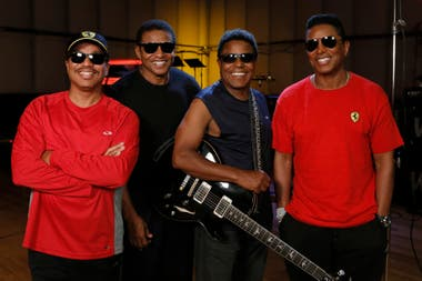 Los hermanos Marlon, Jackie, Tito y Jermaine mantienen vivo el legado de los Jackson 5 y visitarán Buenos Aires por primera vez el próximo 21 de marzo