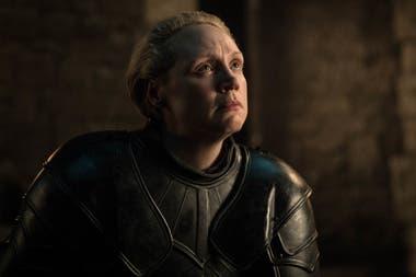 Brienne de Tarth fue nombrada como caballero de los Siete Reinos antes de la gran batalla
