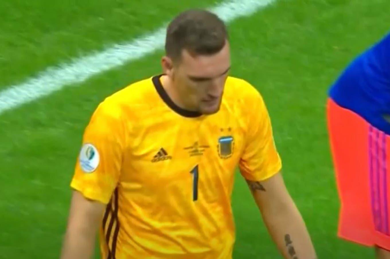El error de Armani que pudo haber terminado en el primer gol de Colombia