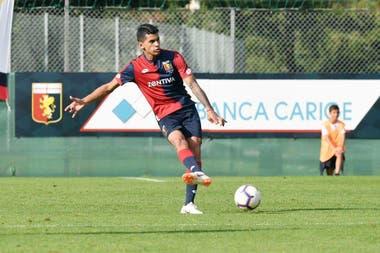 Tuvo una muy buena temporada en Genoa