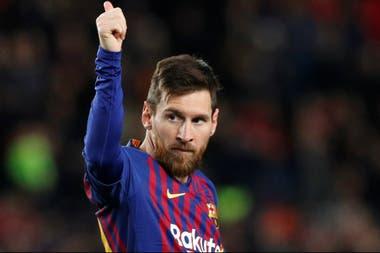 Lionel Messi fue otro de los elegidos
