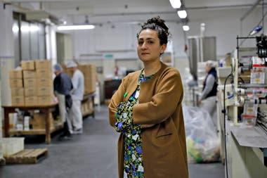 Antonella Minca, fabricante de golosinas