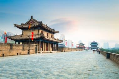 Historia y efervecentes mercados en Xi an