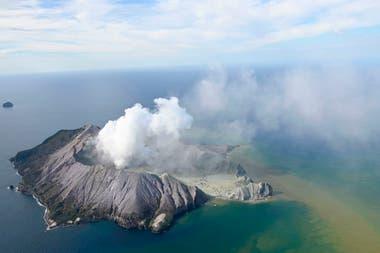 El episodio tuvo lugar pasadas las 14 local frente a las costas de la Isla Norte