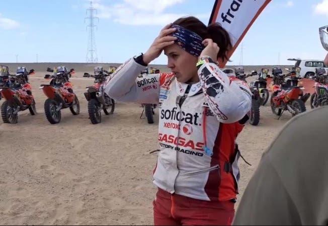 Laia Sanz: la piloto que llegó al top 20 del Dakar y sorprende en el desierto