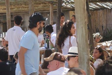 Joaquín Furriel fue capturado por los fotógrafos durante un almuerzo con una joven: ¿Tiene nuevo amor?