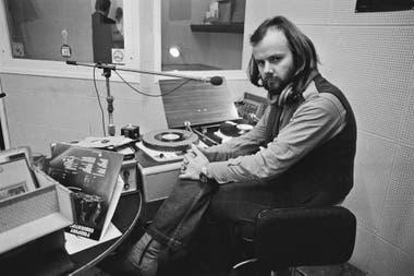 El DJ John Peel en1972