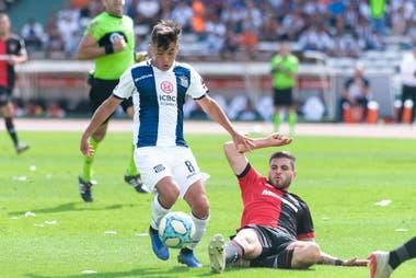 Andrés Cubas dijo que lo potenció mucho como jugador crecer al lado de Pablo Guiñazú, un ídolo de Talleres