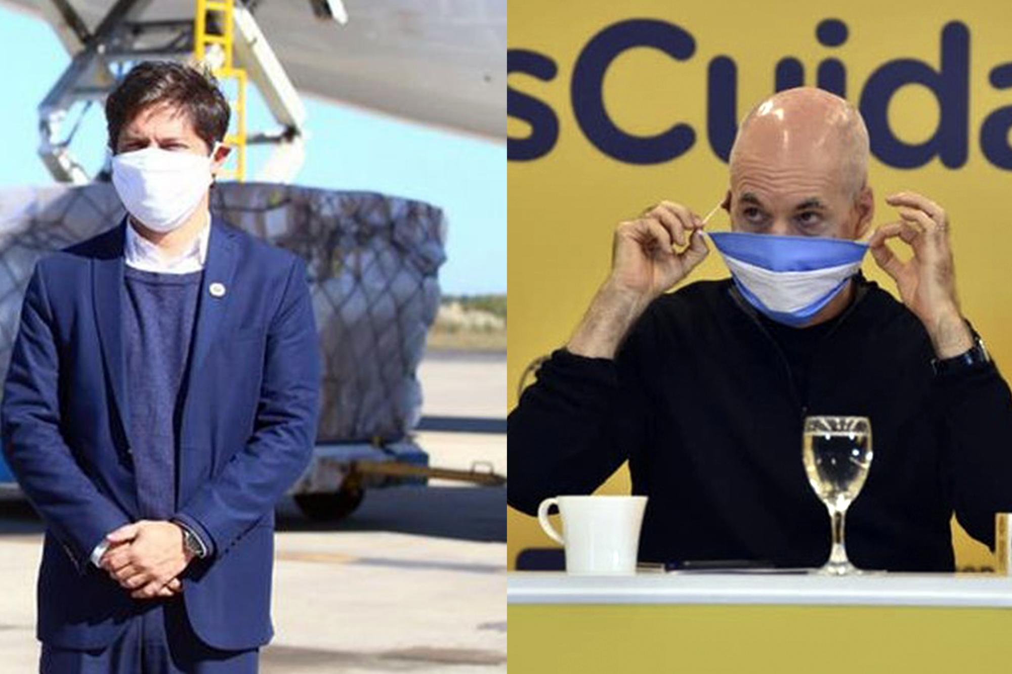 """Coronavirus en la Argentina. Axel Kicillof apuntó a la Ciudad: """"Hay más contagios que en la Provincia cada 100.000 habitantes"""""""