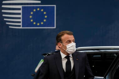 Emmanuel Macron. Como toda Europa, Francia está recurriendo a medidas extremas para contener la segunda ola de Covid-19