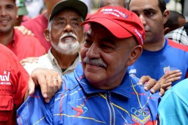 El jefe de Gobierno de Caracas, Dario Vivas