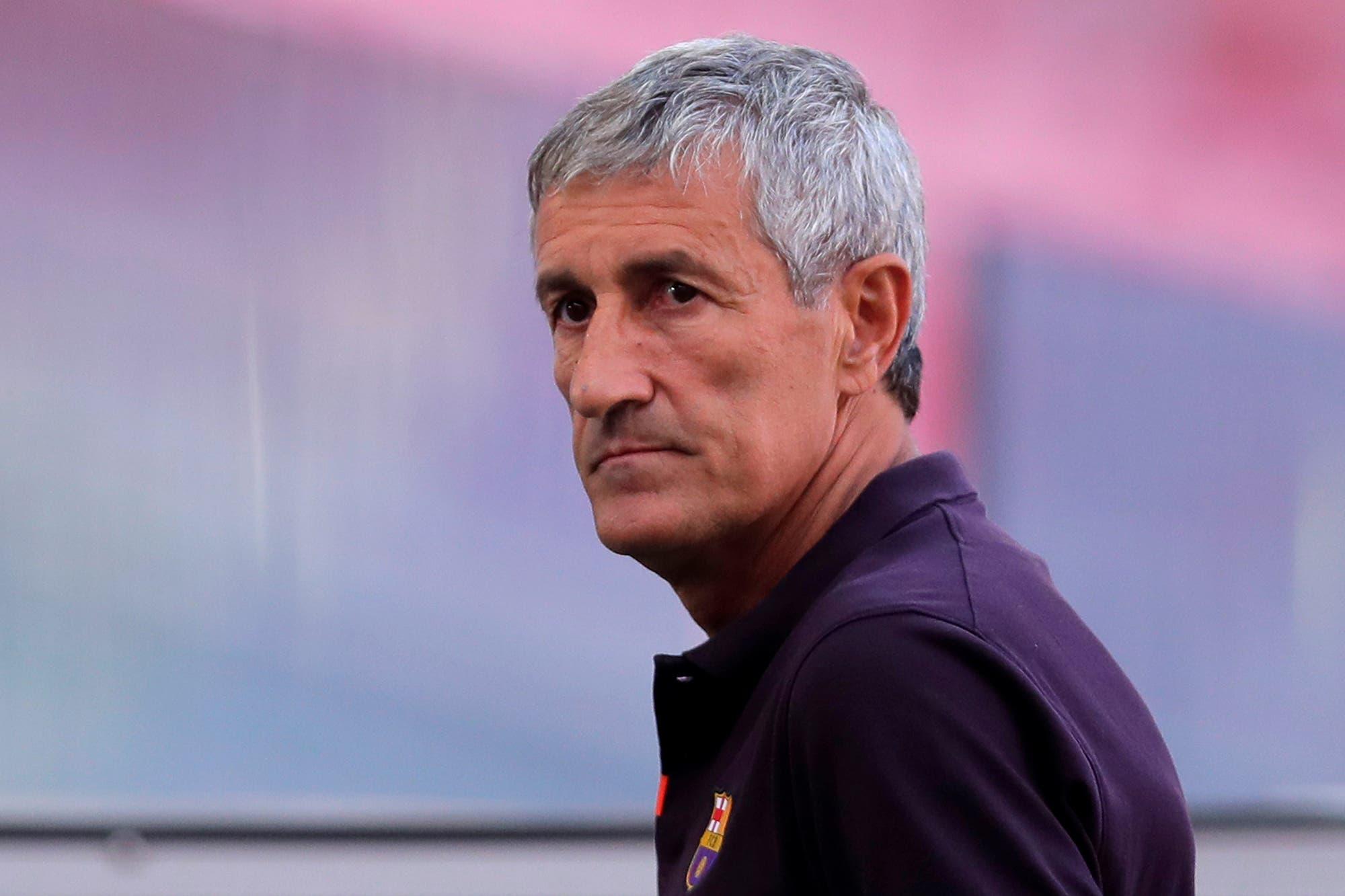 Crisis en Barcelona: el entrenador Quique Setién fue despedido