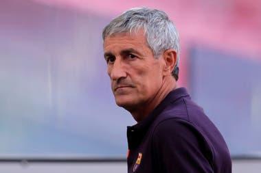 Setién sólo estuvo siete meses al frente del club catalán