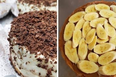 La tradicional tarta de banana que aman los vecinos de Flores
