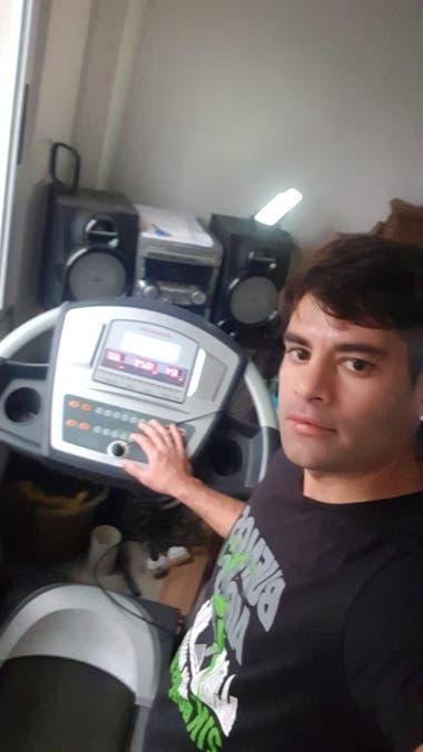 Participante de los 10k Río RT en cinta de correr