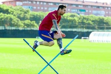 Messi presentó por primera vez una solicitud ante la oficina de propiedad intelectual en 2011 para registrar su apellido como marca.
