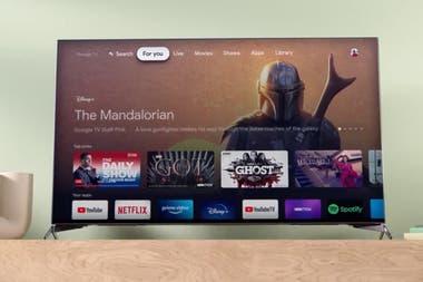 Google TV, la nueva interfaz para acceder al contenido que ofrece Chromecast