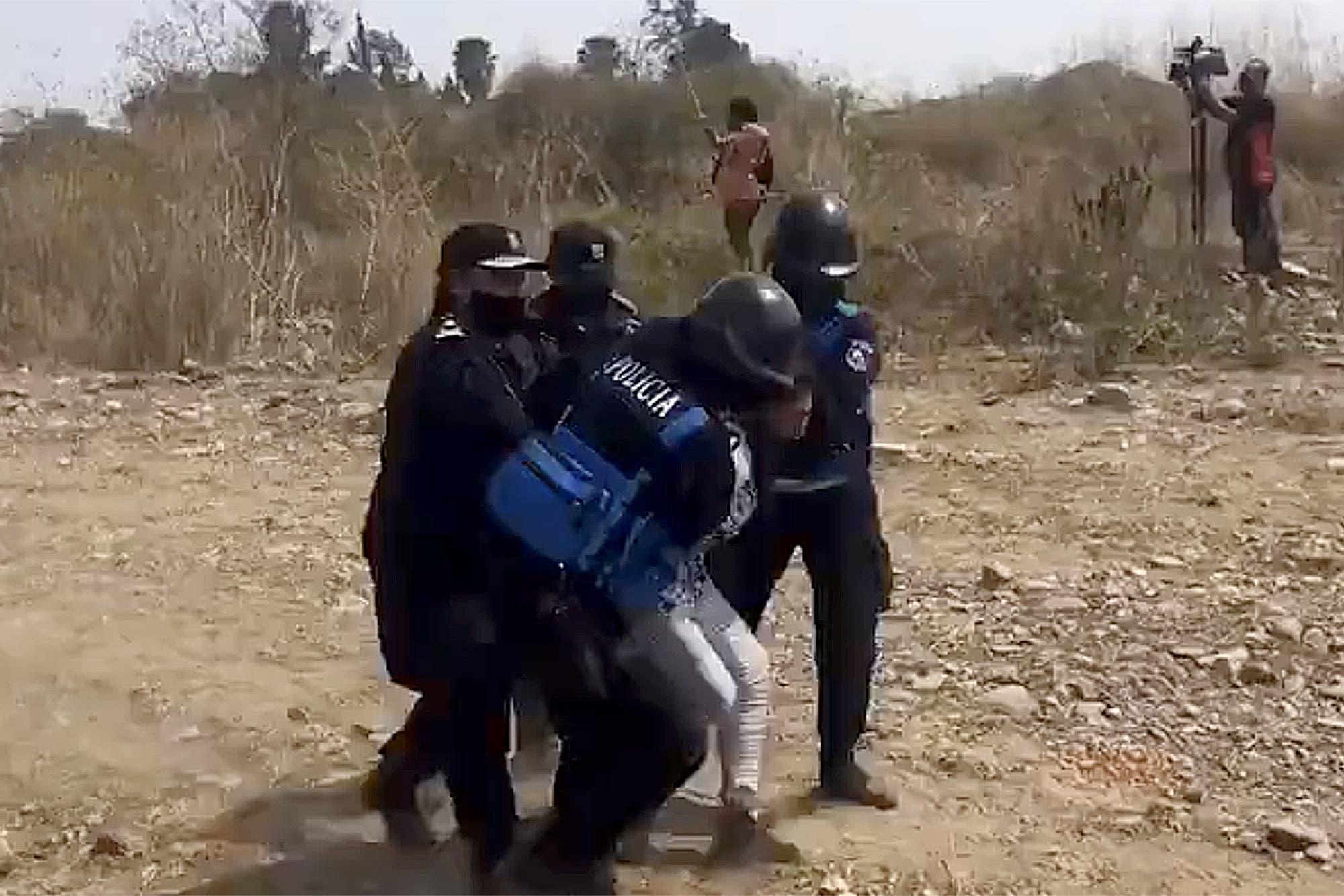 Jujuy: gritos y balas tras el desalojo a integrantes de una comunidad aborigen